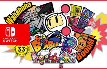 Konami annuncia Super Bomberman R per Switch!