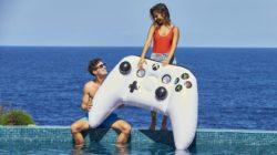 Microsoft svela un controller Xbox One… Gonfiabile?