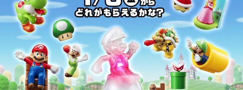 Super Mario conquista i McDonald's giapponesi