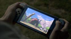 Il touch screen di Nintendo Switch si mostra in video