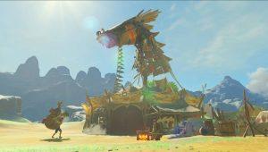 Una vecchia conoscenza in Zelda: Breath of the Wild?