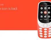 Il nuovo Nokia 3310 si mostra al MWC 2017
