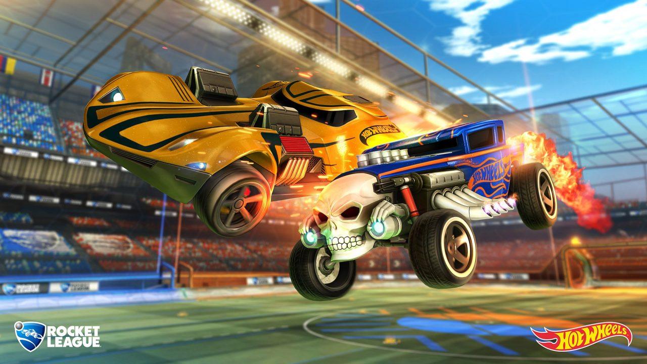 Rocket League, disponibile l'update Hot Wheels