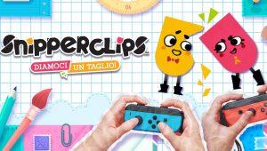 Snipperclips, arriva in bundle con 2 Joy-Con su Switch