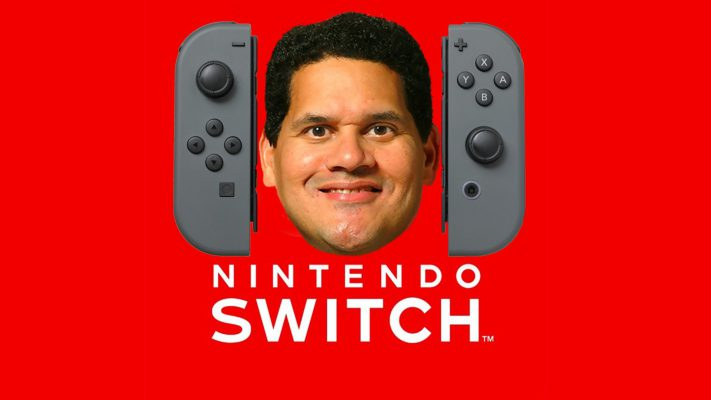 Nintendo switch reggie
