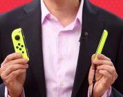 Arrivano i Joy-Con giallo fluo, insieme al battery pack