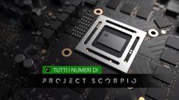 Tutti i numeri di Project Scorpio
