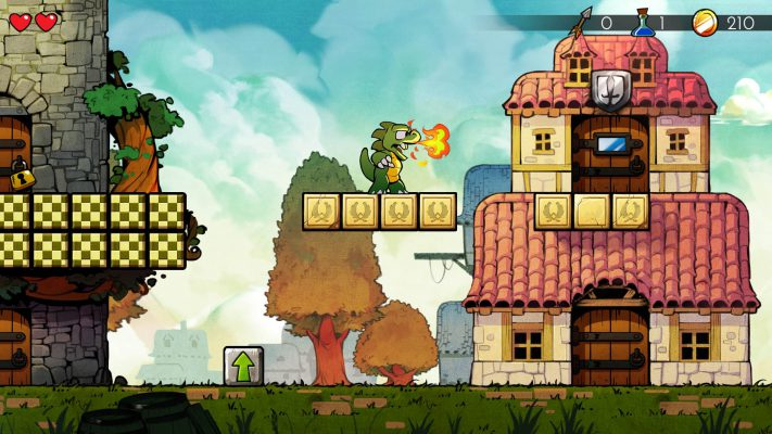 Wonder Boy: The Dragon's Trap entra in fase gold