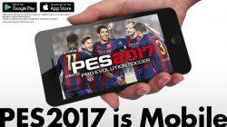PES 2017 mobile fa il suo debutto mondiale!