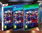 PES 2018, uno sguardo alle edizioni del gioco