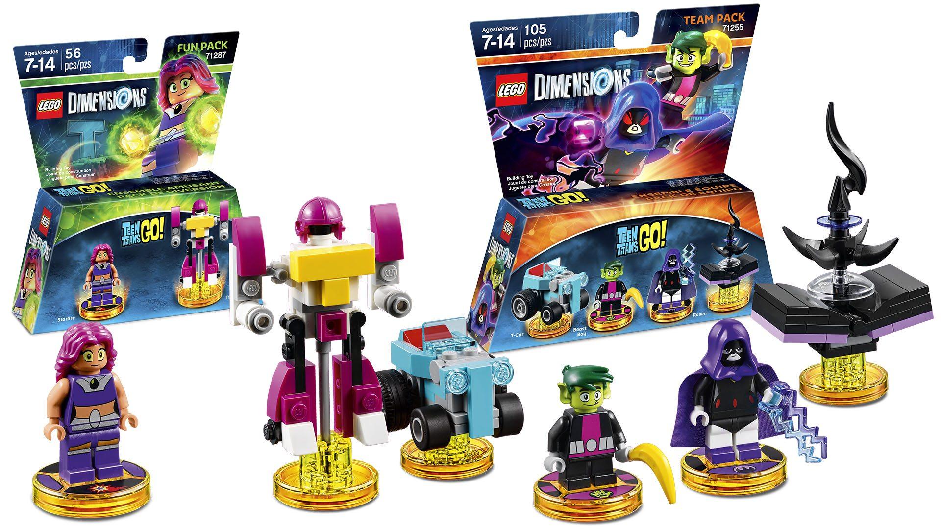 Lego Dimensions Teen Titans Go