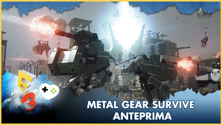 Metal Gear Survive – Anteprima E3 2017