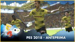 PES 2018 – Anteprima E3 2017