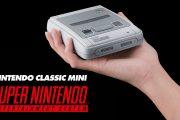 Nintendo Classic Mini SNES verrà distribuito per tutto il 2018