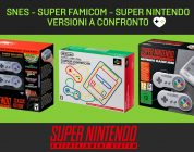 SNES, Super Famicom e Super Nintendo: versioni mini a confronto