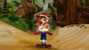 Il video gameplay di Crash Bandicoot N. Sane Trilogy dall'E3 2017