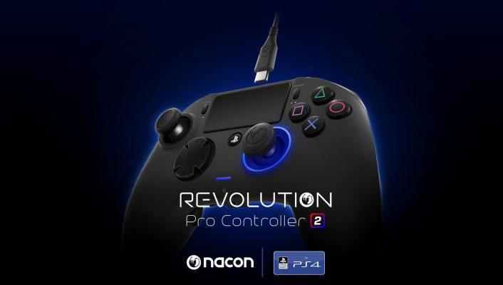 Annunciato il Nacon Revolution Pro Controller 2