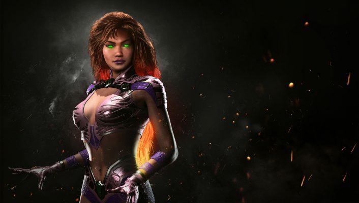 La principessa extraterrestre 'Starfire' atterra in Injustice 2