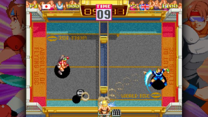 Windjammers sta per tornare dagli anni '90 su PS4 e PSVita