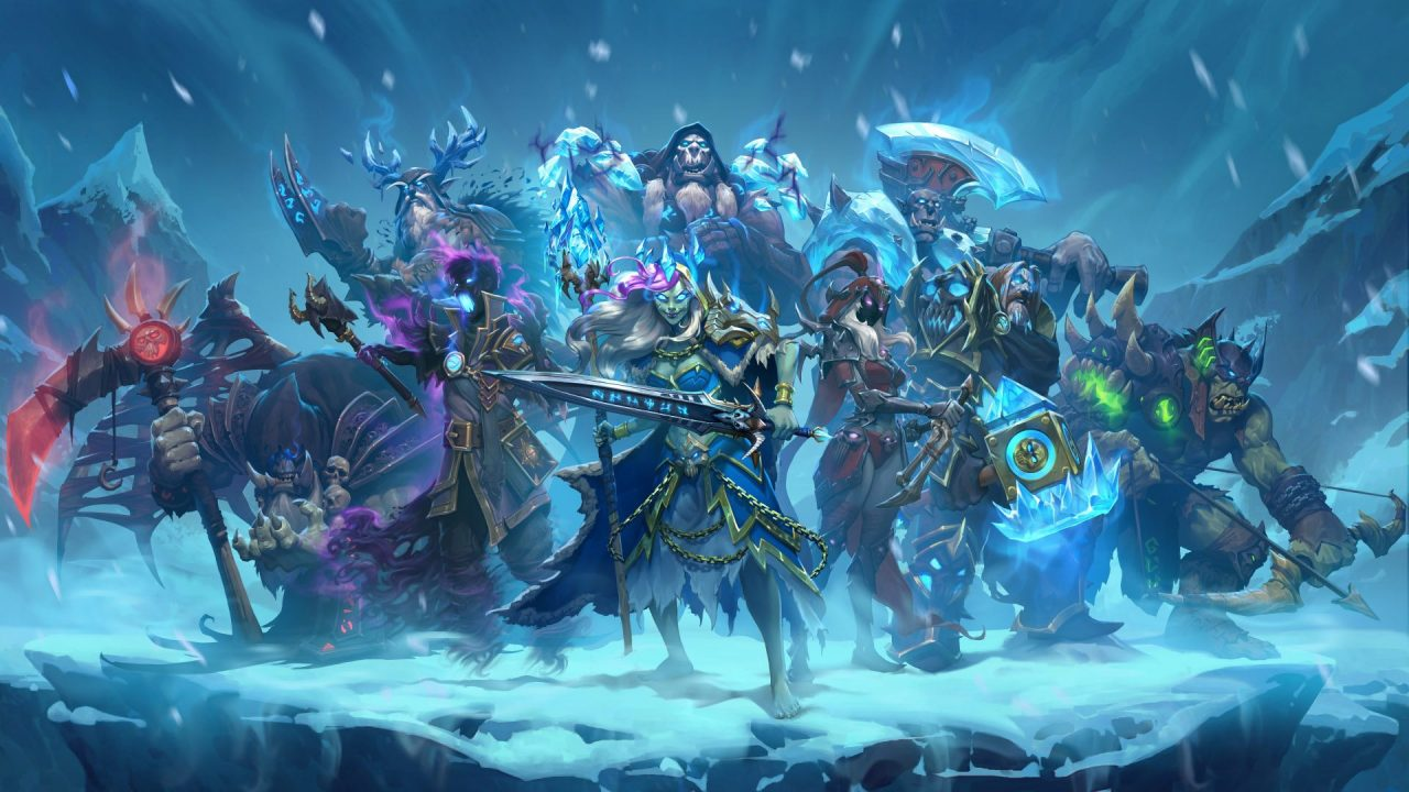 Cavalieri del Trono di Ghiaccio: il Re dei Lich arriva su Hearthstone!