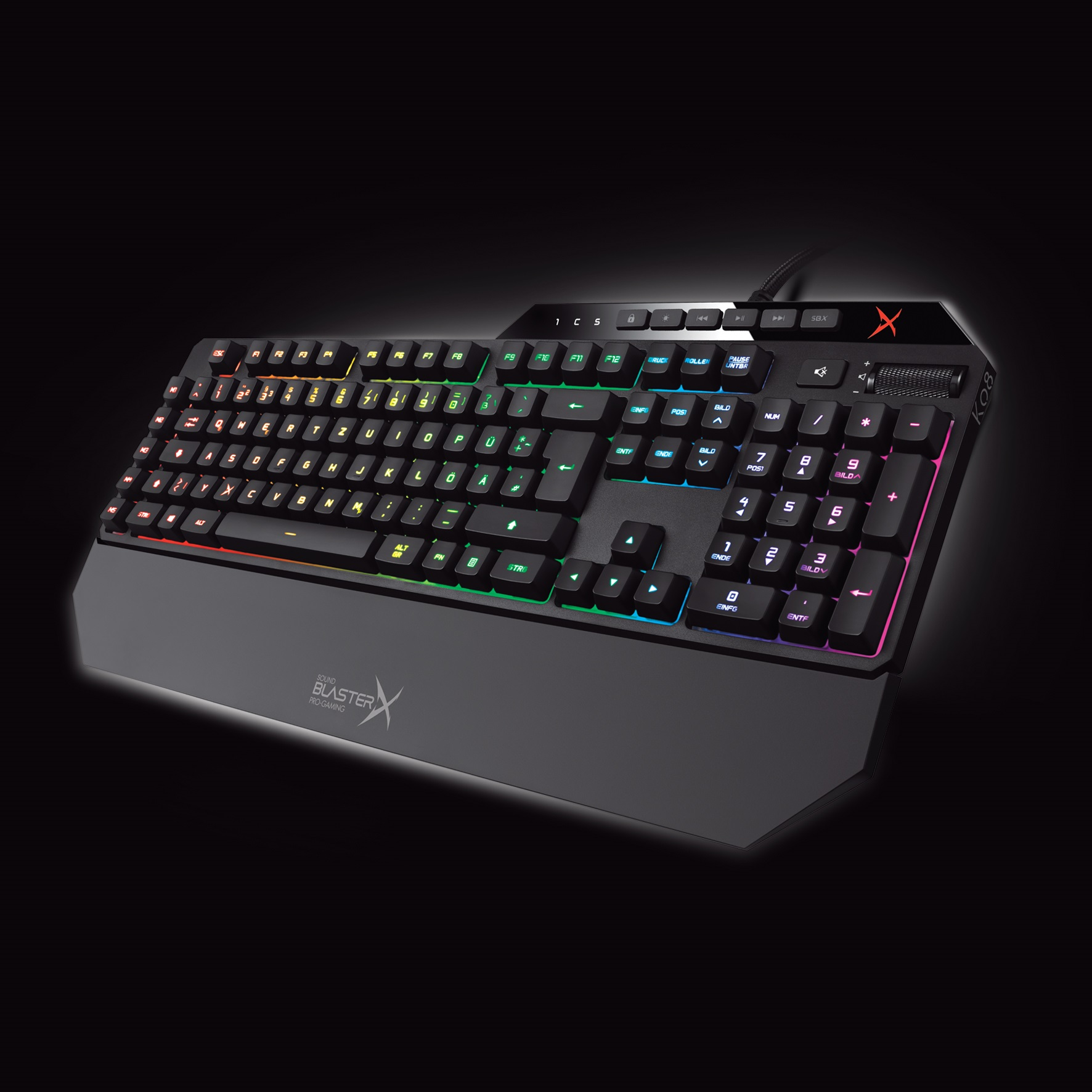Sound BlasterX Vanguard K08