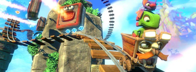 Yooka-Laylee: mostrata un'immagine della versione Switch