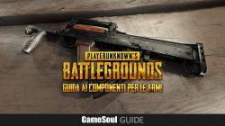 PLAYERUNKNOWN'S BATTLEGROUNDS: Guida ai componenti per le armi