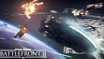 Star Wars Battlefront II: spettacolari battaglie spaziali nel trailer