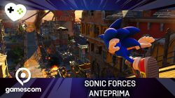 Sonic Forces – Anteprima gamescom 17