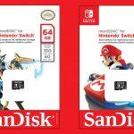 Sandisk produrrà le SD ufficiali per Nintendo Switch