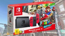 Vi presentiamo Nintendo Switch Red Super Mario Odyssey