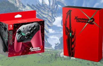 Collector's Edition e Pro Controller per Xenoblade Chronicles 2
