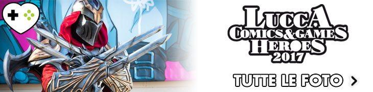 Lucca Comics & Games 2017 Cosplay GameSoul