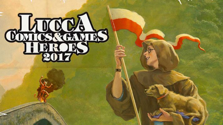 Lucca Comics & Games 2017 Heroes