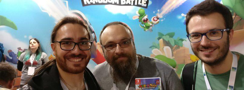 Video Intervista Davide Soliani Mario + Rabbids Kingdom Battle