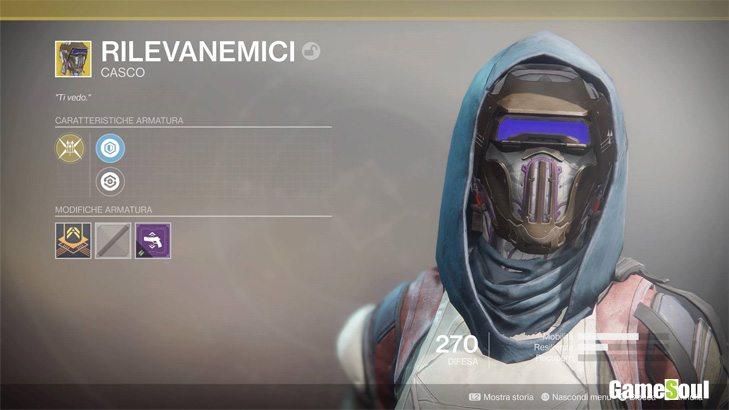 Destiny 2 equipaggiamento esotico: Rilevanemici