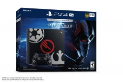 La PlayStation 4 Pro a tema Star Wars Battlefront II