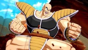 Nappa si unisce alla battaglia di Dragon Ball FighterZ