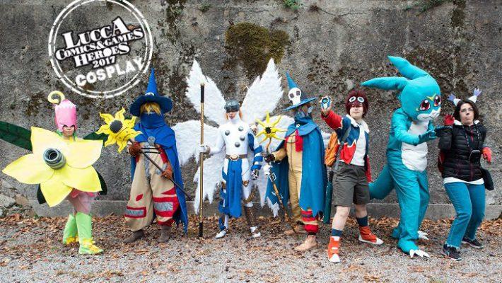 Raduno Cosplay Digimon Lucca Comics & Games 2017