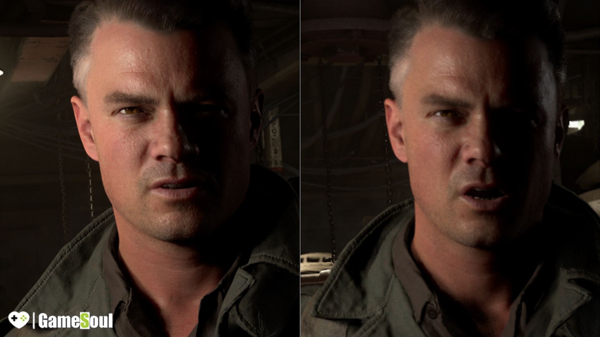 Xbox One X vs Xbox One S - Call of Duty WWII