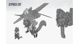 Ecco Jetpack Cat Hero, l'eroe scartato da Overwatch