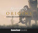 Assassin's Creed Origins – Trovare i 4 Elefanti da Guerra – Guida