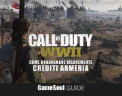 Call of Duty: WWII – Come guadagnare velocemente Crediti Armeria