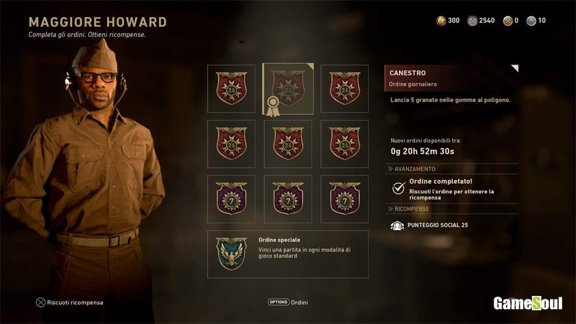 Call of Duty WWII: come aumentare il grado social