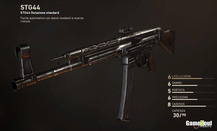 Call of Duty: WWII - Guida alle Armi: STG44