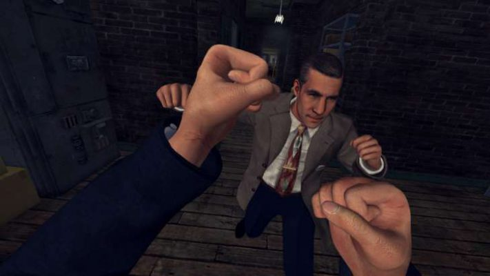 L.A. Noire è disponibile su HTC Vive, nuovo trailer