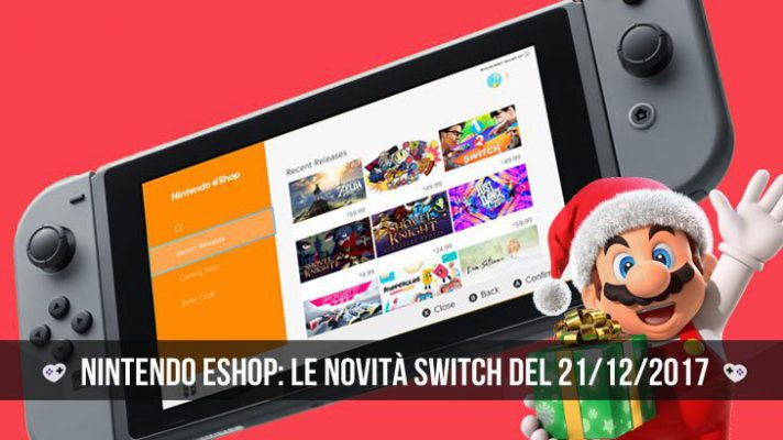 Nintendo eShop: i giochi Switch del 21 dicembre 2017