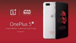 OnePlus 5T a tema Star Wars…