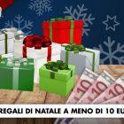 10 Regali di Natale a meno di 10€