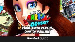 Super Mario Odyssey – Come Risolvere il Quiz di Pauline – Guida